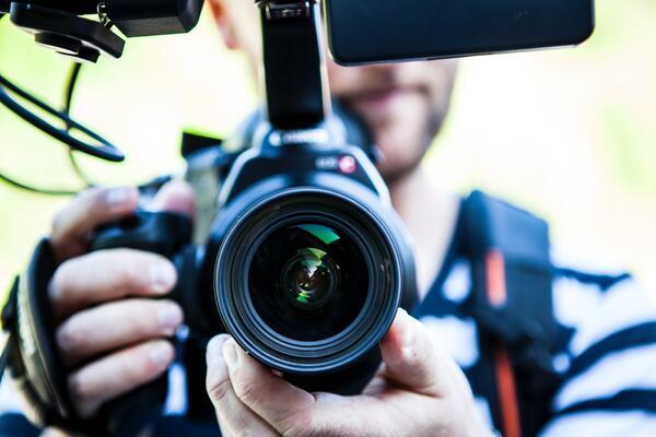 zoom lens close up
