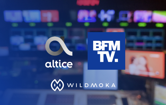 Altice France (BFMTV) & Wildmoka launch a world-first innovation
